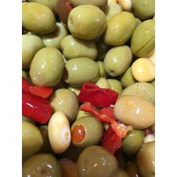 Olives Vertes à la Mexicaine